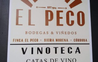 Vinoteca El Peco Sierra Morena cordobesa